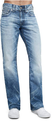 True Religion BOOTCUT FIT INDIGO STITCH JEAN