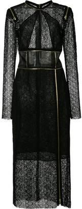 Sophie Theallet zip details lace dress