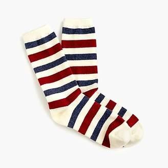 J.Crew Trouser socks in double stripes