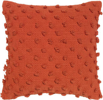 Rapee Acacia Solid Orange Cotton Cushion