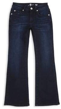 7 For All Mankind Girl's Dojo Flare Jeans
