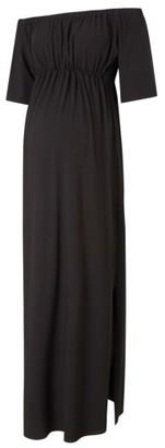 Women's Isabella Oliver Kari Off The Shoulder Maternity Maxi Dress $195 thestylecure.com