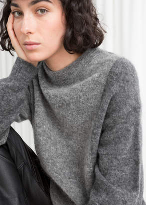 And other stories Oversized Colour Block Sweater