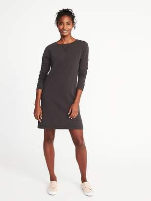 Old Navy Garment-Dyed French-Terry Dress for Women
