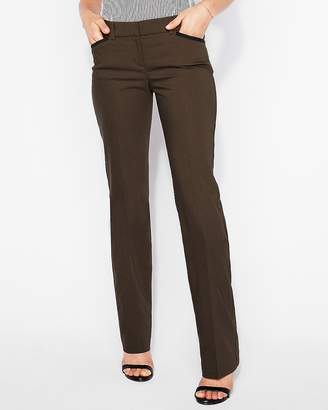 Express Low Rise Piped Barely Boot Editor Pant