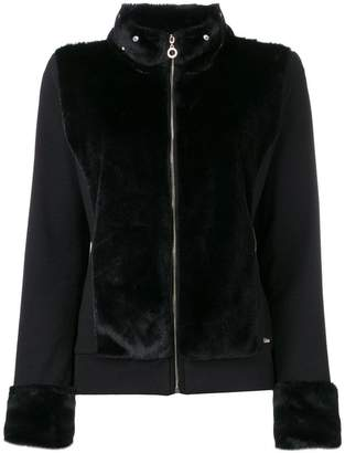 Liu Jo shearling fitted jacket