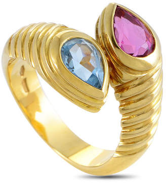 Bvlgari Heritage Bulgari 18K Gemstone Ring