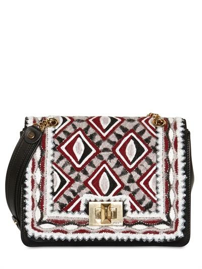 Emilio Pucci Marquise Multi Color Carpet Shoulder Bag