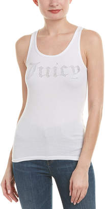Juicy Couture Gothic Crystal Rib Tank