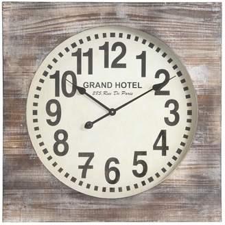 Cooper Classics Oversized 27 Augusta Wall Clock