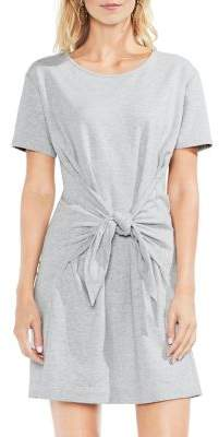 Vince Camuto Tie Front T-Shirt Dress