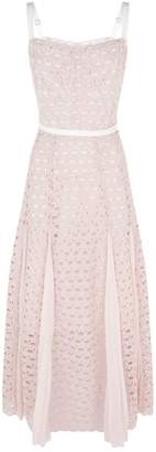 Sandro Crochet Lace Midi Dress