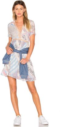 Tommy Hilfiger TOMMY X GIGI Print Dress $275 thestylecure.com