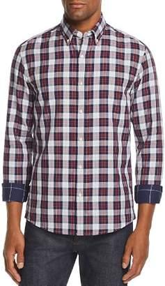 Michael Kors Curt Double-Faced Slim Fit Button-Down Shirt