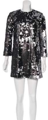 Elizabeth and James Sequined Mini Dress