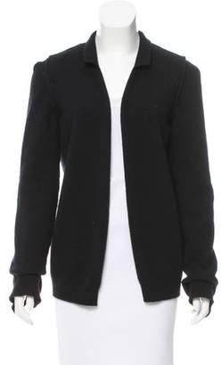 Lanvin Open Front Knit Cardigan