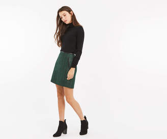 Oasis POPPY TWEED SKIRT