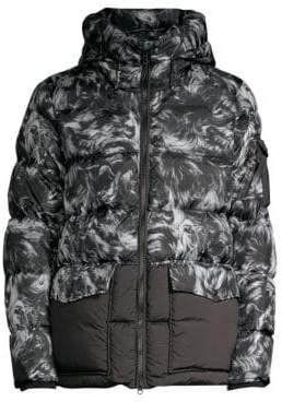 Woolrich Sierra Faux Sheepskin Down Jacket