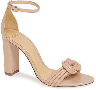 Alexandre Birman Chiara Knot Ankle Strap Sandal