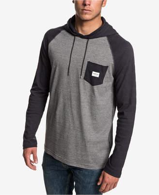 Quiksilver Men Michi Hood Long Sleeve T-shirt