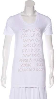 Vena Cava Printed Crew Neck T-Shirt
