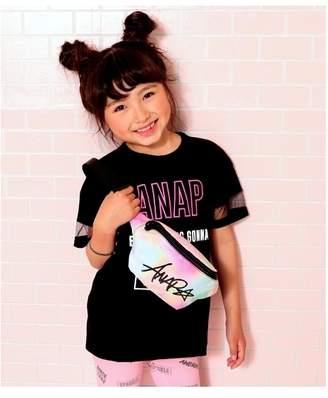 ANAP (アナップ) - ANAP KIDS ウエストポーチ ライトピンク