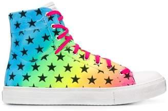 Amiri star hi-top sneakers