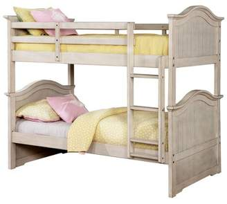 LOFT HOMES: Inside + Out Esme Kids Bunk Bed Twin Over Twin