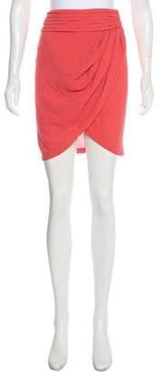 Elizabeth and James Asymmetrical Knee-Length Skirt