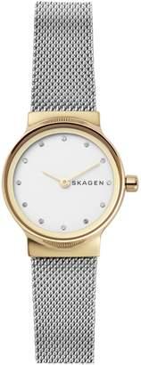 Skagen Freja Stainless Steel Mesh Bracelet Watch