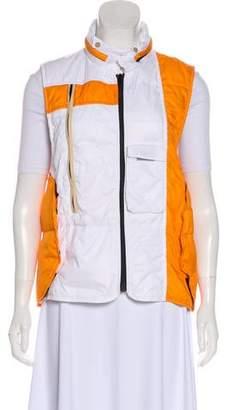 Balenciaga Sleeveless Zip-Up Vest