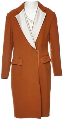 3.1 Phillip Lim Orange Wool Coats