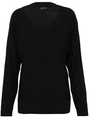 Splendid Cutout Stretch-Knit Sweater