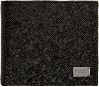 Dolce & Gabbana Black Leather Wallet $295 thestylecure.com