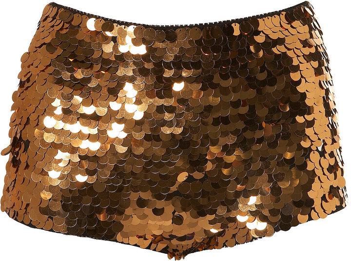 Big Sequin Hotpants