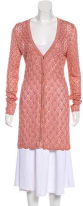 Missoni Knit Long Cardigan