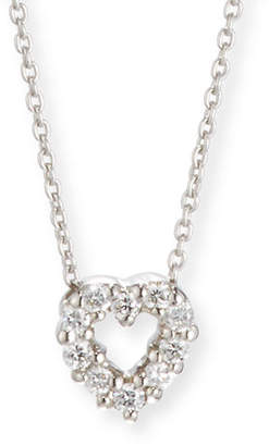 Roberto Coin Diamond Heart Pendant Necklace