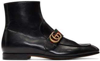 Gucci Black Donnie Boots