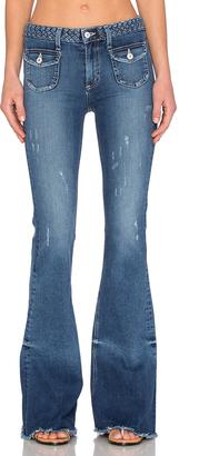 Tularosa Penelope Flare Jean $188 thestylecure.com