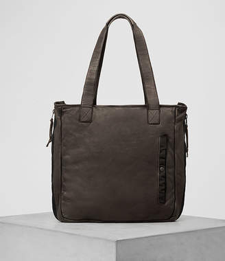 AllSaints Shoto Leather Tote