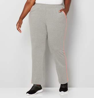 Avenue Velour Trim Colorblock Active Pants