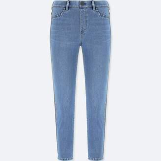 Uniqlo Women's Denim Cropped Leggings Pants