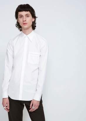Maison Margiela Regular Fit Poplin Contrast Stitch Shirt