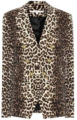 Veronica Beard Miller leopard-printed blazer