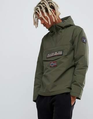 Napapijri Rainforest winter 1 jacket in khaki
