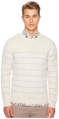 Eleventy Narrow Stripes Cashmere Crew Neck Sweater Men's Sweater