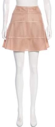 Belstaff Mesh Mini Skirt