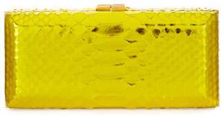 VBH Rectangle Compact 21 Python Clutch Bag