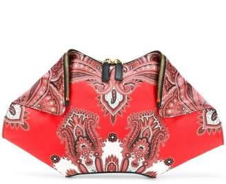 Alexander McQueen 'De Manta' clutch