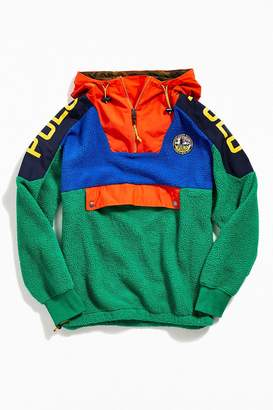 Polo Ralph Lauren Colorblock Fleece Hoodie Sweatshirt